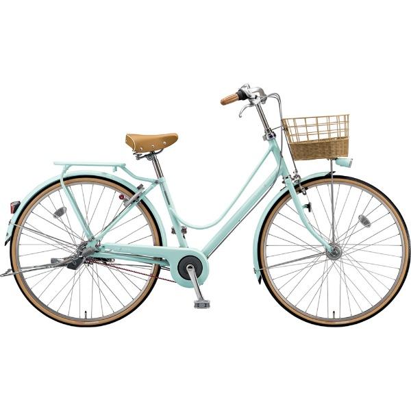 【送料無料】 ブリヂストン 27型 自転車 カジュナ スイートライン デラックス(E.Xミストグリーン/3段変速/ベルトモデル) CS73B【2019年モデル】 【代金引換配送不可】