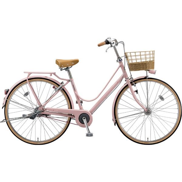 【送料無料】 ブリヂストン 27型 自転車 カジュナ スイートライン デラックス(E.Xサンドピンク/3段変速/ベルトモデル) CS73B【2019年モデル】 【代金引換配送不可】