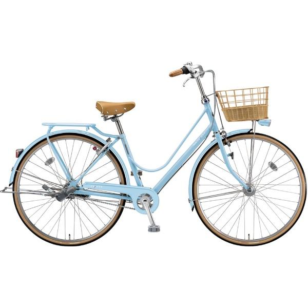 【送料無料】 ブリヂストン 27型 自転車 カジュナ スイートライン デラックス(E.Xカームブルー/3段変速/チェーンモデル) CS7TP【2019年モデル】 【代金引換配送不可】