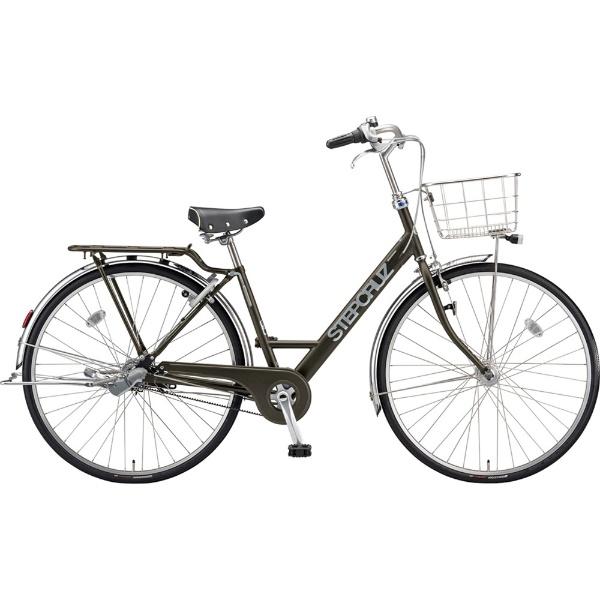 【送料無料】 ブリヂストン 27型 自転車 ステップクルーズ デラックス(T.Xマットカーキ/3段変速/ベルトモデル) SC7BT【2019年モデル】 【代金引換配送不可】