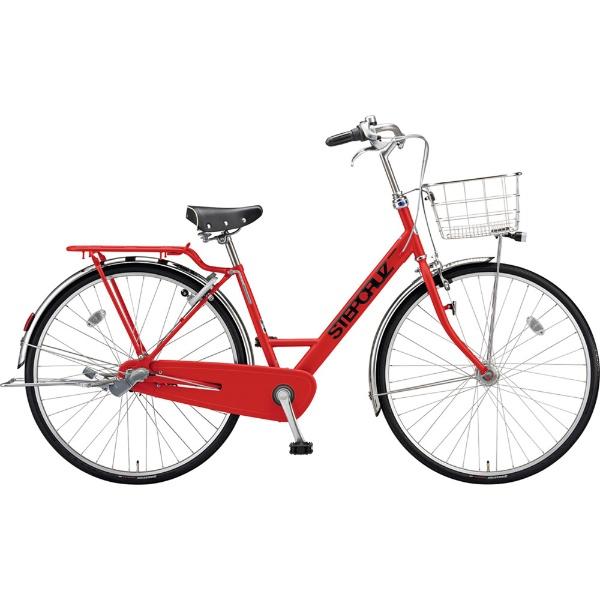 【送料無料】 ブリヂストン 27型 自転車 ステップクルーズ デラックス(F.Xアクティブレッド/3段変速/チェーンモデル) SC7TP【2019年モデル】 【代金引換配送不可】
