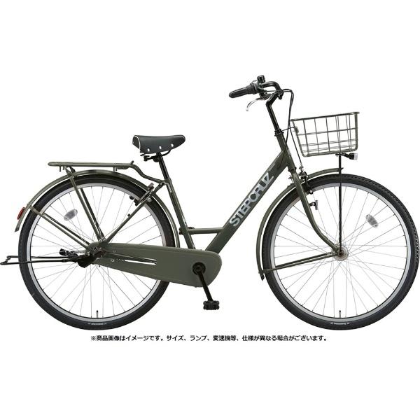 【送料無料】 ブリヂストン 26型 自転車 ステップクルーズ(T.Xマットカーキ/シングルシフトベルトモデル) SC60T【2019年モデル】 【代金引換配送不可】