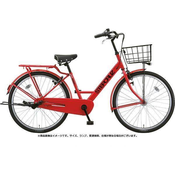 【送料無料】 ブリヂストン 26型 自転車 ステップクルーズ(F.Xアクティブレッド/シングルシフトベルトモデル) SC60T【2019年モデル】 【代金引換配送不可】