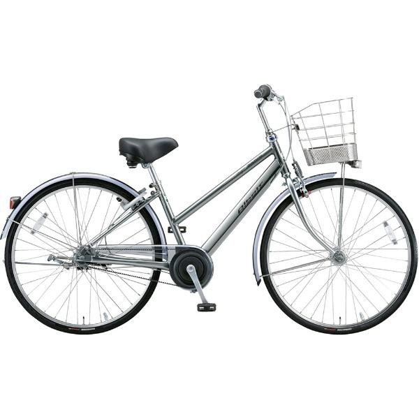 【送料無料】 ブリヂストン 27型 自転車 アルベルトロイヤル S型(M.スパークルシルバー/5段変速/ベルトモデル&オールランダーハンドル仕様) A75SR【2019年モデル】 【代金引換配送不可】