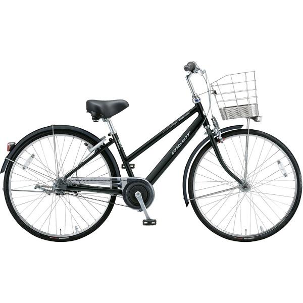 【送料無料】 ブリヂストン 27型 自転車 アルベルトロイヤル S型(F.ピアノブラック/5段変速/ベルトモデル&オールランダーハンドル仕様) A75SR【2019年モデル】 【代金引換配送不可】