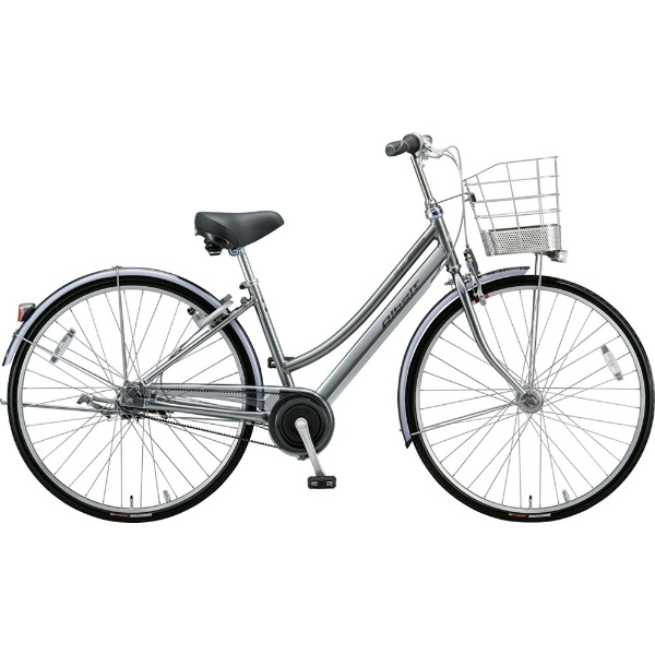 【送料無料】 ブリヂストン 27型 自転車 アルベルトロイヤル L型(M.スパークルシルバー/5段変速/ベルトモデル&トンビハンドル仕様) A75LR【2019年モデル】 【代金引換配送不可】