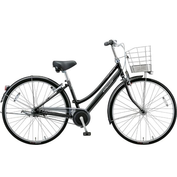 【送料無料】 ブリヂストン 27型 自転車 アルベルトロイヤル L型(F.ピアノブラック/5段変速/ベルトモデル&トンビハンドル仕様) A75LR【2019年モデル】 【代金引換配送不可】