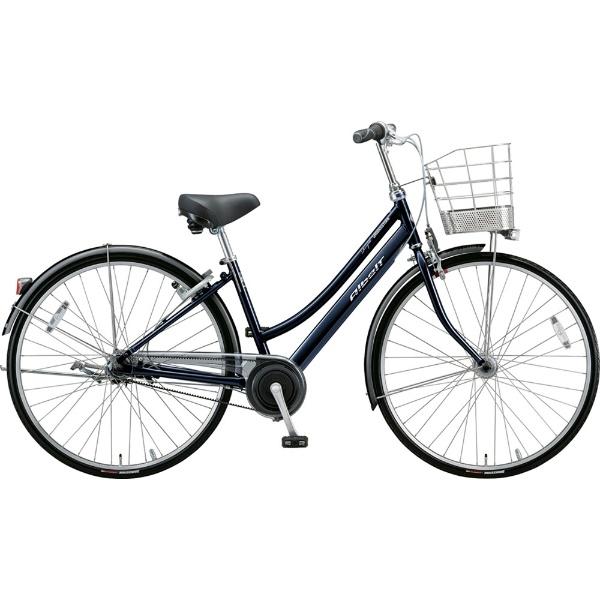 【送料無料】 ブリヂストン 27型 自転車 アルベルトロイヤル L型(M.ジュエルDブルー/5段変速/ベルトモデル&トンビハンドル仕様) A75LR【2019年モデル】 【代金引換配送不可】