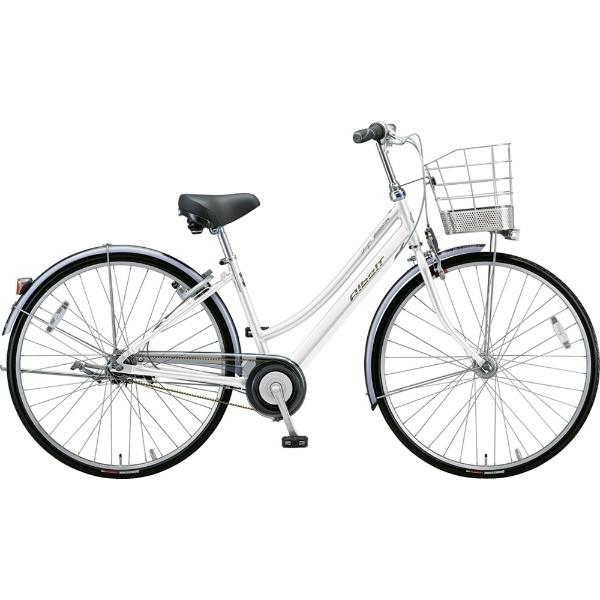 【送料無料】 ブリヂストン 26型 自転車 アルベルトロイヤル L型(P.シャンパンホワイト/5段変速/ベルトモデル&トンビハンドル仕様) A65LR【2019年モデル】 【代金引換配送不可】