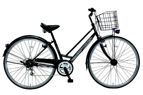 【送料無料】 MARUKIN 27型 自転車 レアルタシティ 276-X(ブラック/6段変速) MK-18-079【2019年モデル】【組立商品につき返品不可】 【代金引換配送不可】【メーカー直送・代金引換不可・時間指定・返品不可】