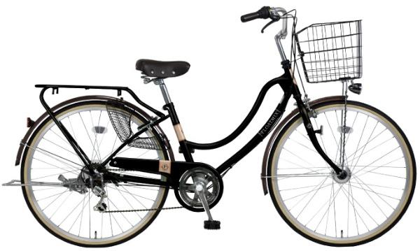 【送料無料】 MARUKIN 27型 自転車 フロートミックス 276-W(マットブラック/6段変速) MK-18-069【2019年モデル】【組立商品につき返品不可】 【代金引換配送不可】【メーカー直送・代金引換不可・時間指定・返品不可】