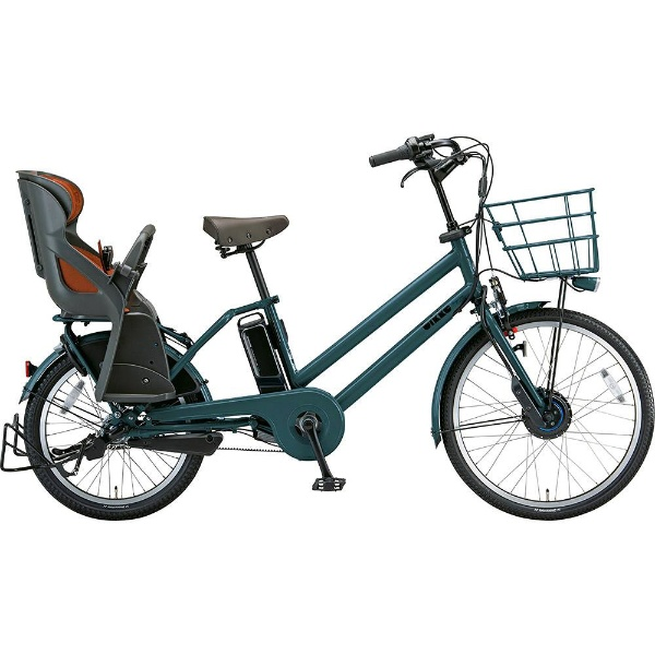 【送料無料】 ブリヂストン 24/20型 電動アシスト自転車 ビッケ グリ dd(T.Xディープグリーン/3段変速)BG0B49【2019年モデル】【組立商品につき返品不可】 【代金引換配送不可】