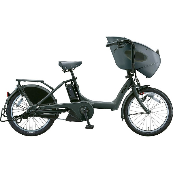 【送料無料】 ブリヂストン 20型 電動アシスト自転車 ビッケ ポーラーe(E.BKダークグレー/3段変速)BR0C49【2019年モデル】【組立商品につき返品不可】 【代金引換配送不可】