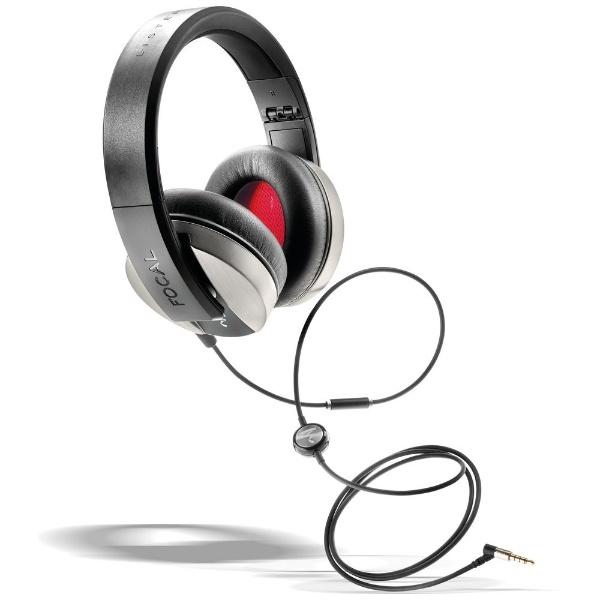 【送料無料】 FOCAL ヘッドホン Listen FCL-LST-S シルバー [リモコン・マイク対応 /φ3.5mm ミニプラグ]
