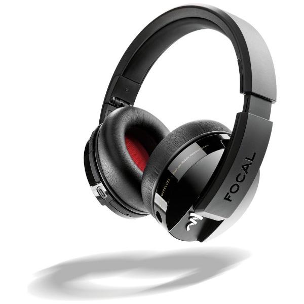 【送料無料】 FOCAL ブルートゥースヘッドホン Listen Wireless FCL-LSW-B ブラック [リモコン・マイク対応 /Bluetooth]