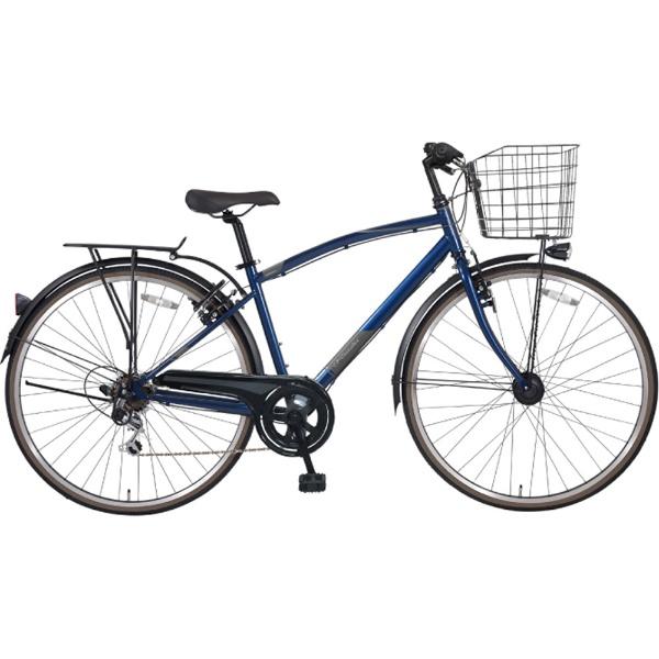 【送料無料】 MARUKIN 27型 自転車 ノスタリア276-X(ダークブルー/外装6段変速シフト) MK-18-085【2019年モデル】 【代金引換配送不可】【メーカー直送・代金引換不可・時間指定・返品不可】