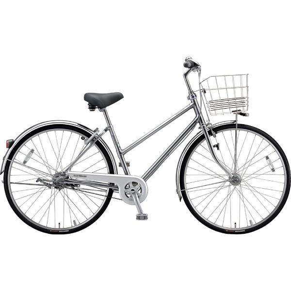 【送料無料】 ブリヂストン 26型 自転車 ロングティーン ベルト S型(M.XHスパークルシルバー/3段変速)LT63SB【2019年モデル】【組立商品につき返品不可】 【代金引換配送不可】