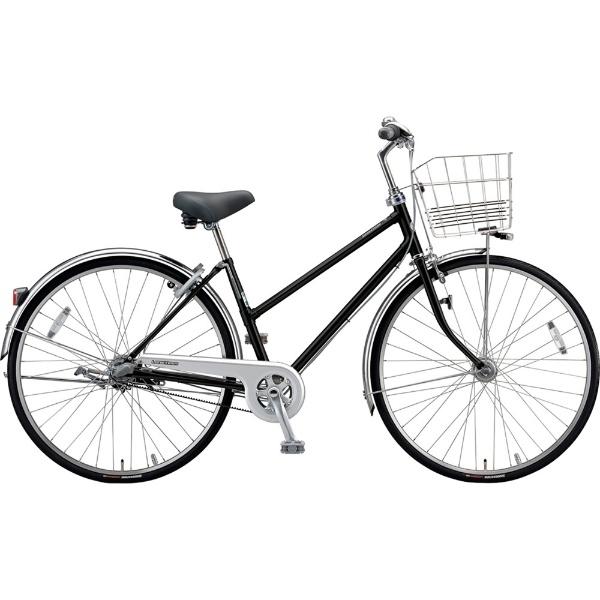 【送料無料】 ブリヂストン 26型 自転車 ロングティーン ベルト S型(P.Xクリスタルブラック/3段変速)LT63SB【2019年モデル】【組立商品につき返品不可】 【代金引換配送不可】