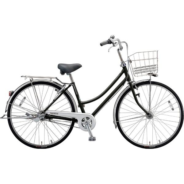 【送料無料】 ブリヂストン 27型 自転車 ロングティーン ベルト L型(P.Xクリスタルブラック/3段変速)LT73LB【2019年モデル】【組立商品につき返品不可】 【代金引換配送不可】