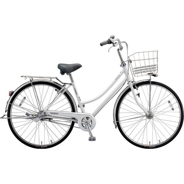 【送料無料】 ブリヂストン 26型 自転車 ロングティーン ベルト L型(P.Xスノーホワイト/3段変速)LT63LB【2019年モデル】【組立商品につき返品不可】 【代金引換配送不可】