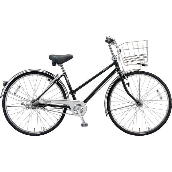【送料無料】 ブリヂストン 27型 自転車 ロングティーン デラックス S型(P.Xクリスタルブラック/3段変速)LT7STP【2019年モデル】【組立商品につき返品不可】 【代金引換配送不可】