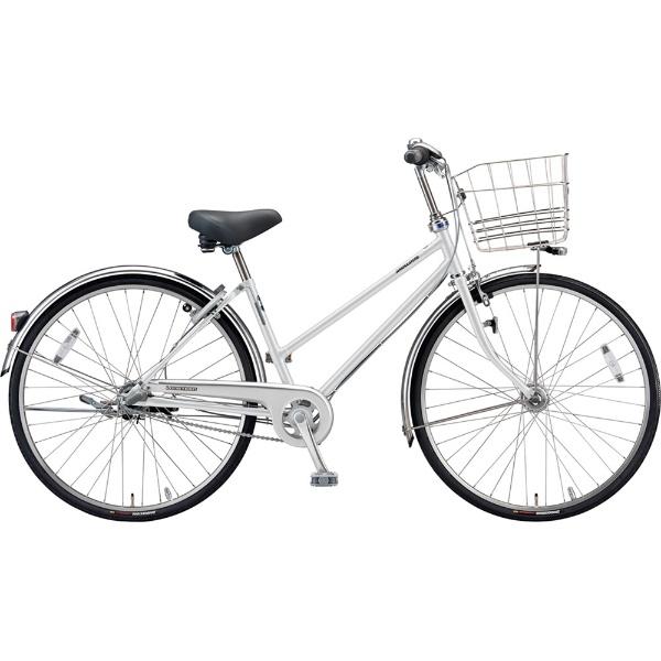 【送料無料】 ブリヂストン 27型 自転車 ロングティーン デラックス S型(P.Xスノーホワイト/3段変速)LT7STP【2019年モデル】【組立商品につき返品不可】 【代金引換配送不可】