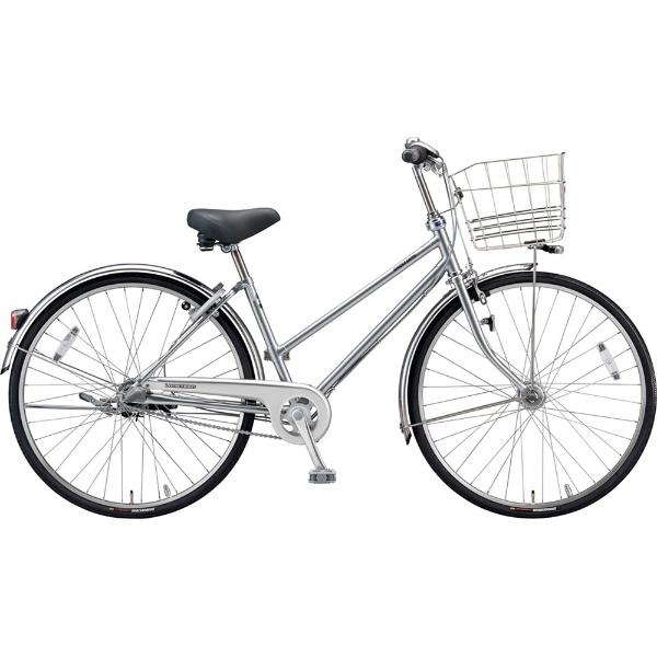 【送料無料】 ブリヂストン 26型 自転車 ロングティーン デラックス S型(M.XRシルバー/3段変速)LT6STP【2019年モデル】【組立商品につき返品不可】 【代金引換配送不可】