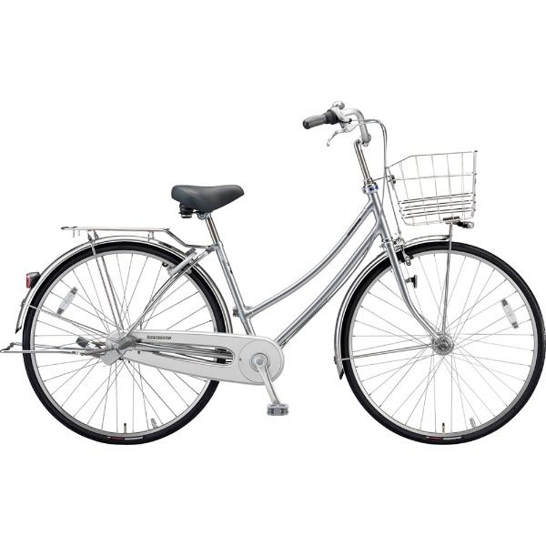 【送料無料】 ブリヂストン 27型 自転車 ロングティーン デラックス W型(M.XRシルバー/3段変速)LT7WTP【2019年モデル】【組立商品につき返品不可】 【代金引換配送不可】