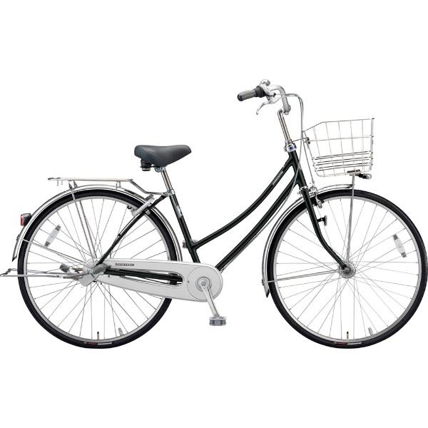【送料無料】 ブリヂストン 27型 自転車 ロングティーン デラックス W型(P.Xクリスタルブラック/3段変速)LT7WTP【2019年モデル】【組立商品につき返品不可】 【代金引換配送不可】