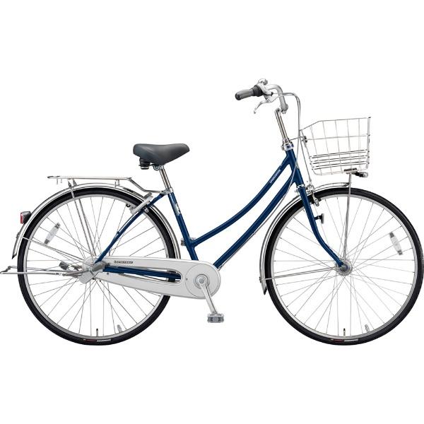 【送料無料】 ブリヂストン 27型 自転車 ロングティーン デラックス W型(P.Xサファイヤブルー/3段変速)LT7WTP【2019年モデル】【組立商品につき返品不可】 【代金引換配送不可】