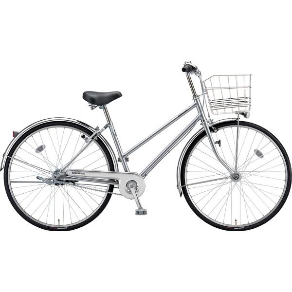 【送料無料】 ブリヂストン 27型 自転車 ロングティーン スタンダード S型(M.XRシルバー/3段変速/点灯虫モデル)LT73ST【2019年モデル】【組立商品につき返品不可】 【代金引換配送不可】