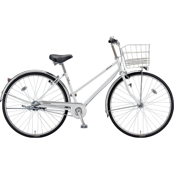 【送料無料】 ブリヂストン 27型 自転車 ロングティーン スタンダード S型(P.Xスノーホワイト/3段変速/点灯虫モデル)LT73ST【2019年モデル】【組立商品につき返品不可】 【代金引換配送不可】