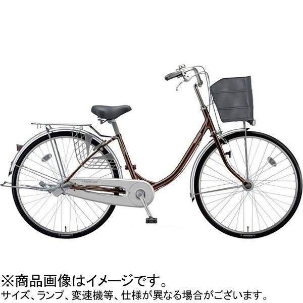 【送料無料】 ブリヂストン 26型 自転車 プロムナード263(P.Xショコラブラウン/3段変速) PR63UT【2019年モデル】【組立商品につき返品不可】 【代金引換配送不可】