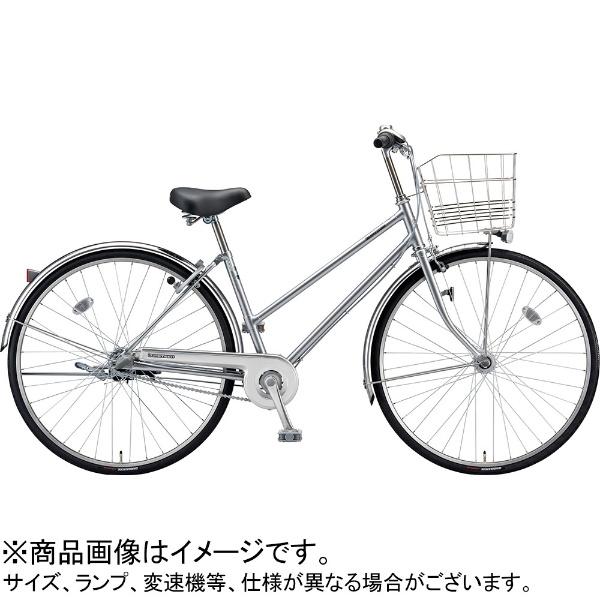 【送料無料】 ブリヂストン 27型 自転車 ロングティーン スタンダード S型(M.XRシルバー/3段変速/ブロックダイナモモデル)LT73S【2019年モデル】【組立商品につき返品不可】 【代金引換配送不可】