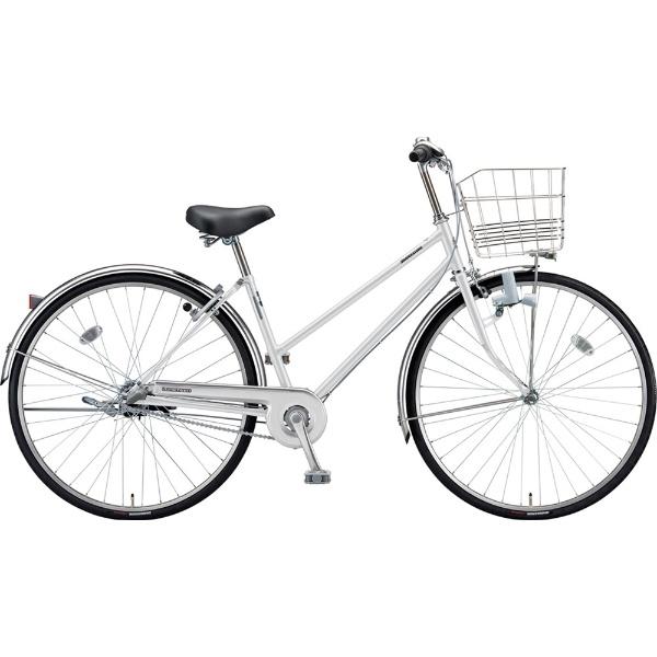 【送料無料】 ブリヂストン 27型 自転車 ロングティーン スタンダード S型(P.Xスノーホワイト/3段変速/ブロックダイナモモデル)LT73S【2019年モデル】【組立商品につき返品不可】 【代金引換配送不可】