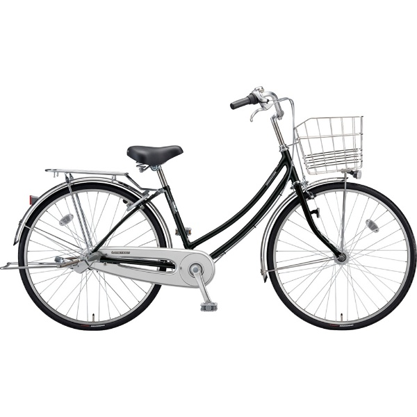 【送料無料】 ブリヂストン 26型 自転車 ロングティーン スタンダード W型(P.Xクリスタルブラック/3段変速/点灯虫モデル)LT63WT【2019年モデル】【組立商品につき返品不可】 【代金引換配送不可】