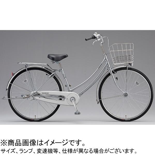 【送料無料】 ブリヂストン 26型 自転車 ロングティーン スタンダード W型(M.XRシルバー/シングルシフト/点灯虫モデル)LT60WT【2019年モデル】【組立商品につき返品不可】 【代金引換配送不可】