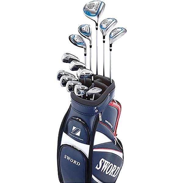 【送料無料】 カタナゴルフ メンズ ゴルフクラブ SWORD KABUTO 12本フルセット《フジクラMotore Speeder 556 カーボンシャフト》R