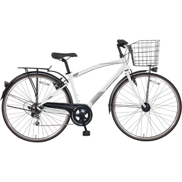 【送料無料】 MARUKIN 27型 自転車 ノスタリア276X(ホワイト/外装6段変速) MK-18-085【2019年モデル】【組立商品につき返品不可】 【代金引換配送不可】【メーカー直送・代金引換不可・時間指定・返品不可】