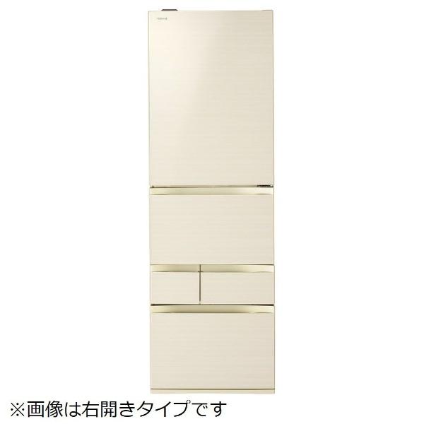 【標準設置費込み】 東芝 TOSHIBA 《基本設置料金セット》GRM470GWL(ZC) 冷蔵庫 VEGETA(ベジータ)GWシリーズ ラピスアイボリー [5ドア /左開きタイプ /465L]