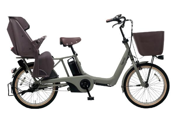 【送料無料】 パナソニック Panasonic 20型 電動アシスト自転車 ギュット・アニーズ・EX(マットオリーブ/内装3段変速)BE-ELAE033G【2019年モデル】【組立商品につき返品不可】 【代金引換配送不可】