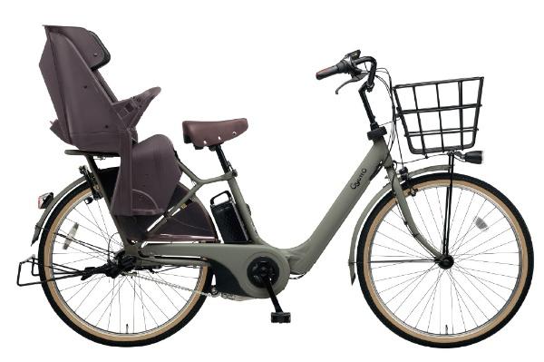 【送料無料】 パナソニック Panasonic 26型 電動アシスト自転車 ギュット・アニーズ・DX・26(マットオリーブ/内装3段変速)BE-ELAD63G【2019年モデル】【組立商品につき返品不可】 【代金引換配送不可】