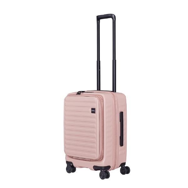 【送料無料】 LOJEL スーツケース CUBO-N Sサイズ CUBONSLZ ローズ 【メーカー直送・代金引換不可・時間指定・返品不可】