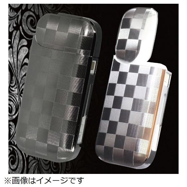 ブラック 日本製 チェック ISP-031-CA-BNI 【加熱式タバコケース】 i-STYLES IQOS アイコスケース