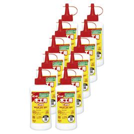 ボンド木工用ボトル500g(10本)【のり・接着剤/木工用接着剤】