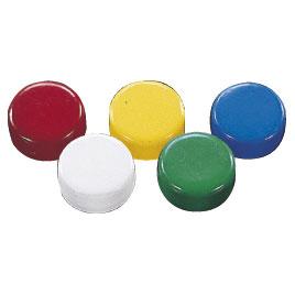 お値打ち価格で 10000円以上で送料無料 黒板 ホワイトボード用品 マグネット メーカー公式 10個入 スクールマグタッチ18mm緑