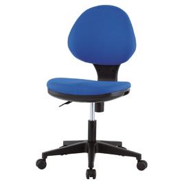 オフィスチェアGY‐129Nブルー【整理保管・事務用家具/オフィスチェア】