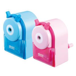 えんぴつけずりDS‐06(4台入)ピンク【筆記具・修正具/鉛筆用品】