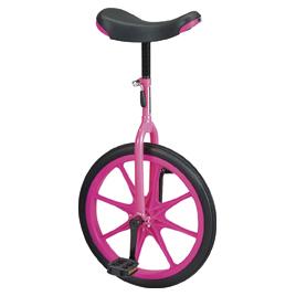 一輪車 18号 ピンク【室外遊具/一輪車】