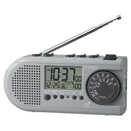 防災用クロック ディフェリアR54【防犯・防災・安全用品/非常ライト・ラジオ】
